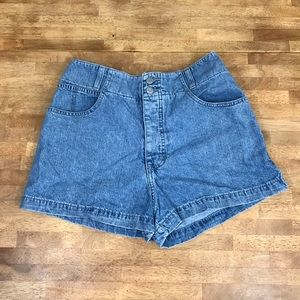 Vintage 90s high waisted guess jean shorts